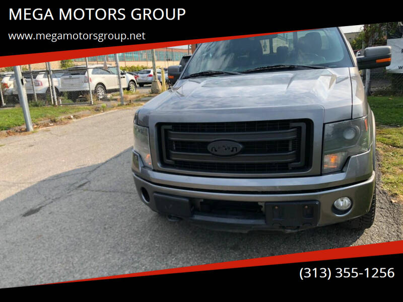 2013 Ford F-150 for sale at MEGA MOTORS GROUP in Redford MI