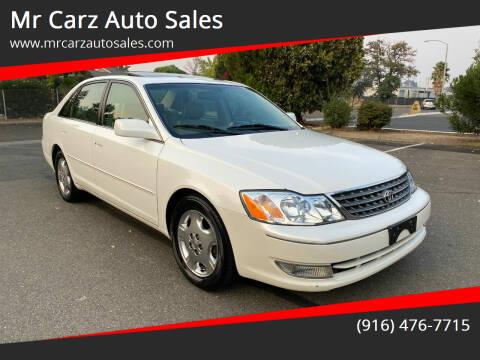 2003 Toyota Avalon for sale at Mr Carz Auto Sales in Sacramento CA