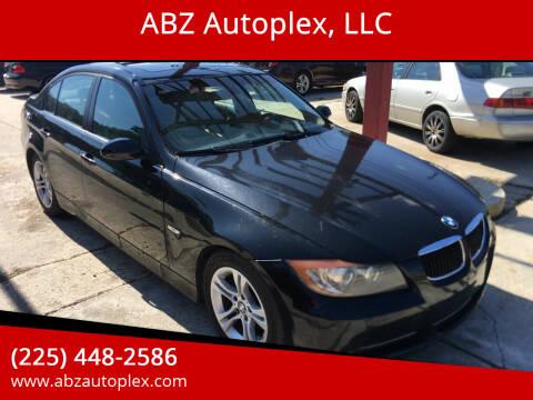 2008 BMW 3 Series for sale at ABZ Autoplex, LLC in Baton Rouge LA