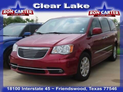 2015 Chrysler Town and Country for sale at Ron Carter  Clear Lake Used Cars in Houston TX