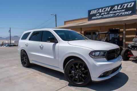 2017 Dodge Durango for sale at Beach Auto and RV Sales in Lake Havasu City AZ