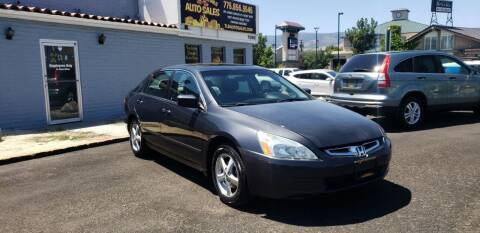 2005 Honda Accord for sale at The Little Details Auto Sales in Reno NV