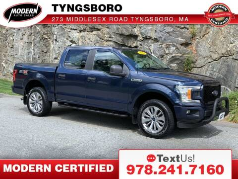 2018 Ford F-150 for sale at Modern Auto Sales in Tyngsboro MA