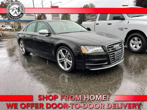 2013 Audi S8 for sale at Auto 206, Inc. in Kent WA