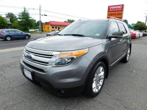 2011 Ford Explorer for sale at Cars 4 Less in Manassas VA