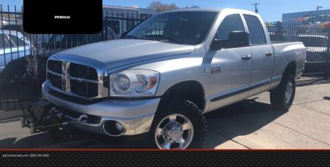 2007 Dodge Ram Pickup 2500 for sale at DPM Motorcars in Albuquerque NM
