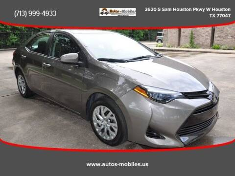 2018 Toyota Corolla for sale at AUTOS-MOBILES in Houston TX