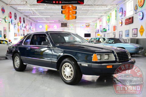 1986 Ford Thunderbird for sale at Classics and Beyond Auto Gallery in Wayne MI