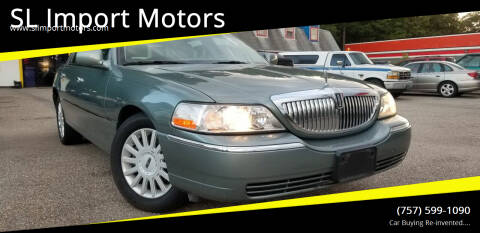 2005 Lincoln Town Car for sale at SL Import Motors in Newport News VA