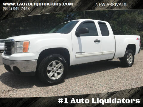 2009 GMC Sierra 1500 for sale at #1 Auto Liquidators in Yulee FL