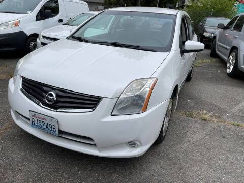 2012 Nissan Sentra for sale at SNS AUTO SALES in Seattle WA