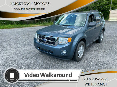 2010 Ford Escape for sale at Bricktown Motors in Brick NJ