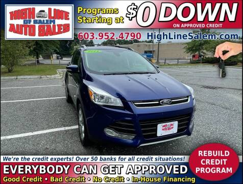 2014 Ford Escape for sale at High Line Auto Sales of Salem in Salem NH