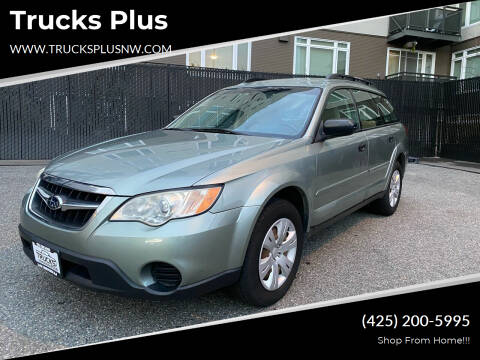 2009 Subaru Outback for sale at Trucks Plus in Seattle WA