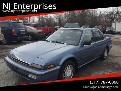 1989 Honda Accord for sale at NJ Enterprises in Indianapolis IN