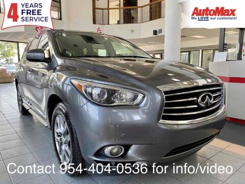 2015 Infiniti QX60 for sale at Auto Max in Hollywood FL