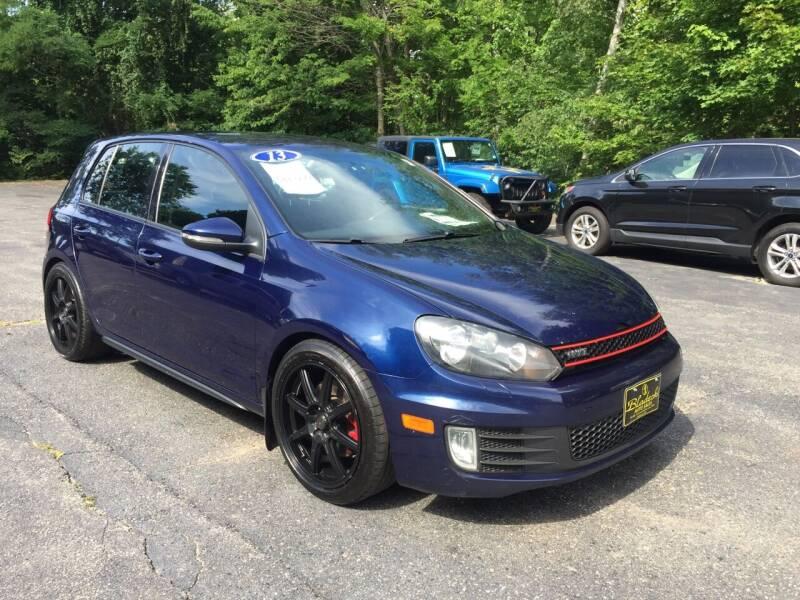 2013 Volkswagen GTI for sale at Bladecki Auto in Belmont NH