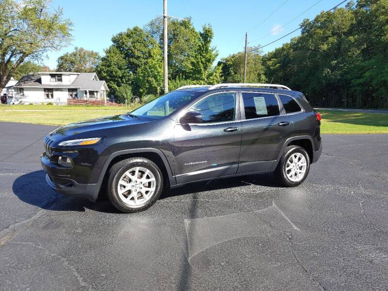 2014 Jeep Cherokee for sale at Depue Auto Sales Inc in Paw Paw MI