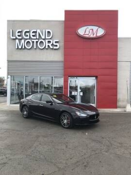 2017 Maserati Ghibli for sale at Legend Motors of Waterford - Legend Motors of Ferndale in Ferndale MI