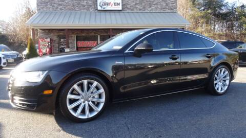 2013 Audi A7 for sale at Driven Pre-Owned in Lenoir NC
