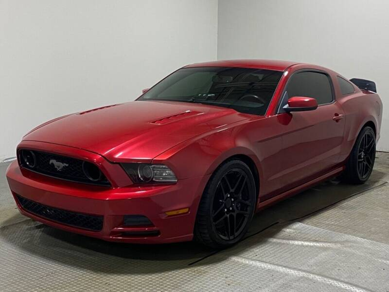 2013 Ford Mustang for sale at Cincinnati Automotive Group in Lebanon OH