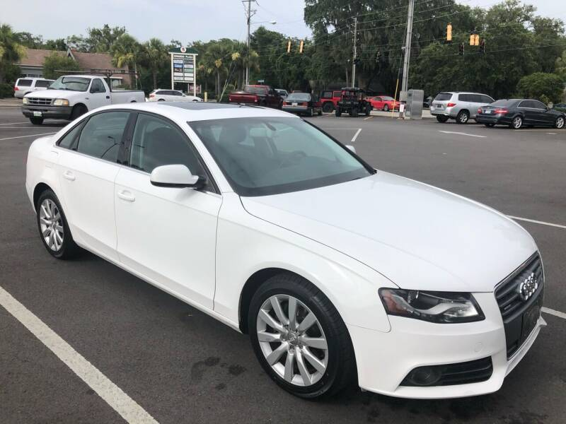 2010 Audi A4 for sale at GOLD COAST IMPORT OUTLET in St Simons GA