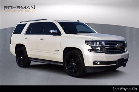 2015 Chevrolet Tahoe for sale at BOB ROHRMAN FORT WAYNE TOYOTA in Fort Wayne IN