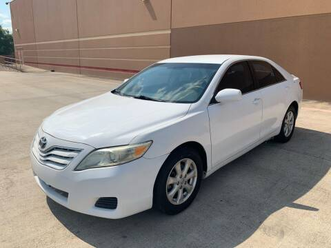 2011 Toyota Camry for sale at ALL STAR MOTORS INC in Houston TX