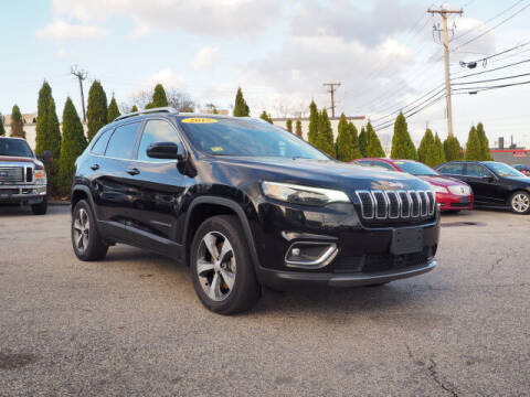 2019 Jeep Cherokee for sale at East Providence Auto Sales in East Providence RI