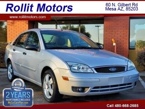 2006 Ford Focus for sale at Rollit Motors in Mesa AZ