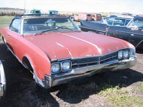 1966 Oldsmobile Eighty-Eight for sale at Classic Car Deals in Cadillac MI