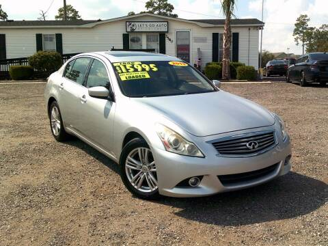 2013 Infiniti G37 Sedan for sale at Let's Go Auto Of Columbia in West Columbia SC