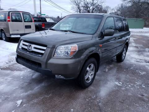2006 Honda Pilot for sale at Jims Auto Sales in Muskegon MI