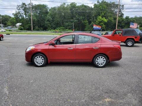 2013 Nissan Versa for sale at CANDOR INC in Toms River NJ