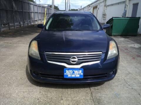 2008 Nissan Altima for sale at AUTO VALUE FINANCE INC in Stafford TX