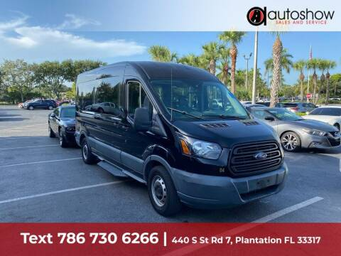 2017 Ford Transit Passenger for sale at AUTOSHOW SALES & SERVICE in Plantation FL