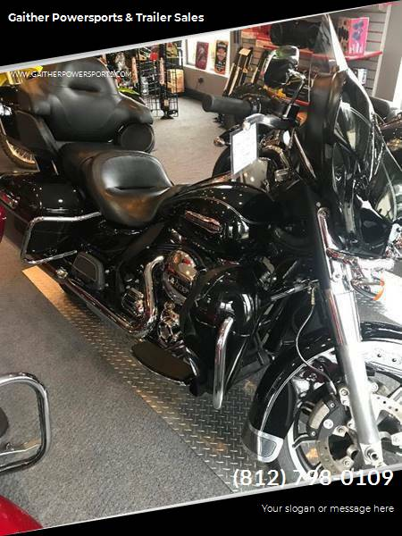2015 Harley-Davidson Electra Glide Ultra Classic for sale at Gaither Powersports & Trailer Sales in Linton IN