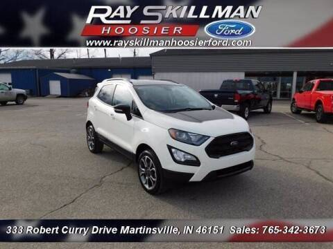 2020 Ford EcoSport for sale at Ray Skillman Hoosier Ford in Martinsville IN