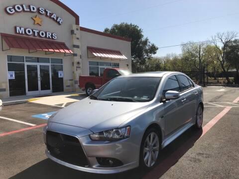 2015 Mitsubishi Lancer for sale at Gold Star Motors Inc. in San Antonio TX
