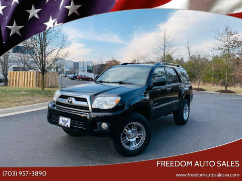 2008 Toyota 4Runner for sale at Freedom Auto Sales in Chantilly VA