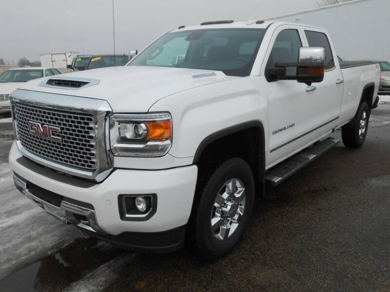 2017 GMC Sierra 3500HD for sale at Salmon Automotive Inc. in Tracy MN