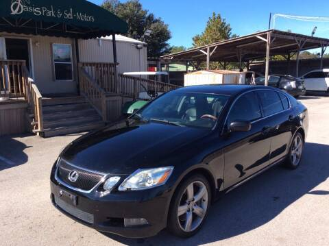 2007 Lexus GS 350 for sale at OASIS PARK & SELL in Spring TX