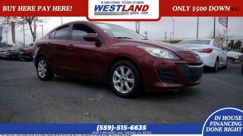 2010 Mazda MAZDA3 for sale at Westland Auto Sales on 7th in Fresno CA