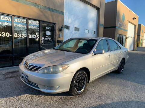 2005 Toyota Camry for sale at REDA AUTO PORT INC in Villa Park IL
