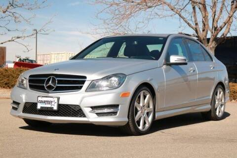 2014 Mercedes-Benz C-Class for sale at COURTESY MAZDA in Longmont CO