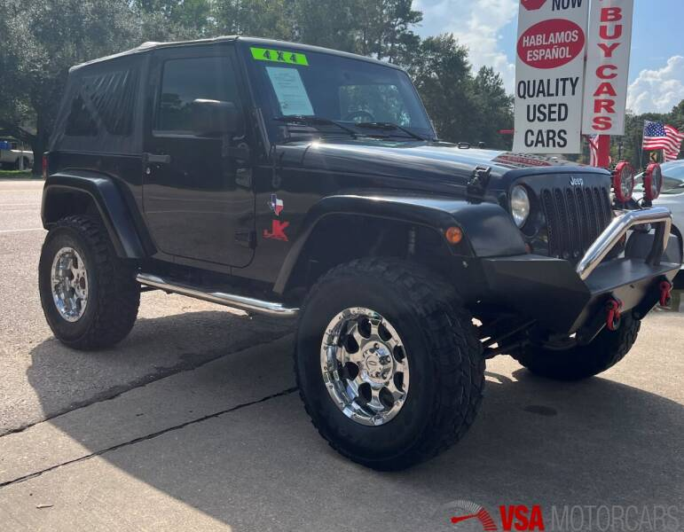 2008 Jeep Wrangler for sale at VSA MotorCars in Cypress TX