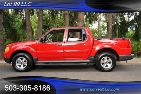 2005 Ford Explorer Sport Trac for sale at LOT 99 LLC in Milwaukie OR
