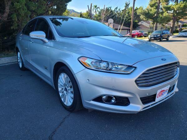 2014 Ford Fusion Energi for sale at CAR CITY SALES in La Crescenta CA