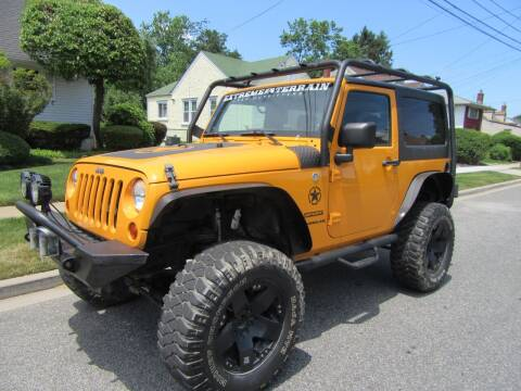 2012 Jeep Wrangler for sale at First Choice Automobile in Uniondale NY