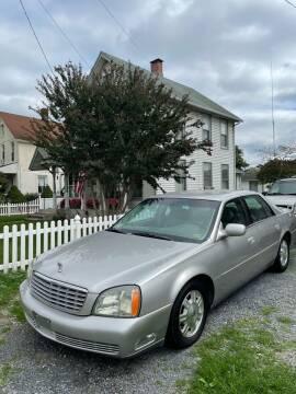 2004 Cadillac DeVille for sale at Village Auto Center INC in Harrisonburg VA